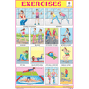 EXERCISES SIZE 24 X 36 CMS CHART NO. 232 - Indian Book Depot (Map House)