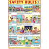 SAFETY RULES SIZE 24 X 36 CMS CHART NO. 250 - Indian Book Depot (Map House)