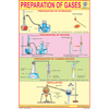 PREPARATION OF GASES CHART SIZE 12X18 (INCHS) 300GSM ARTCARD - Indian Book Depot (Map House)
