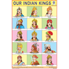 OUR INDIAN KINGS SIZE 24 X 36 CMS CHART NO. 256 - Indian Book Depot (Map House)