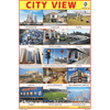 CITY VIEW CHART SIZE 12X18 (INCHS) 300GSM ARTCARD - Indian Book Depot (Map House)