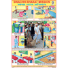 SWACCH BHARAT MISSION CHART SIZE 12X18 (INCHS) 300GSM ARTCARD - Indian Book Depot (Map House)