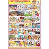 FESTIVALS OF INDIA (COMBINED) CHART SIZE 12X18 (INCHS) 300GSM ARTCARD - Indian Book Depot (Map House)