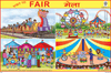VISIT TO FAIR (MELA) SIZE 24 X 36 CMS CHART NO. 270 - Indian Book Depot (Map House)