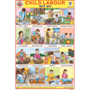 CHILD LABOUR CHART SIZE 12X18 (INCHS) 300GSM ARTCARD - Indian Book Depot (Map House)