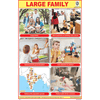 LARGE FAMILY CHART SIZE 12X18 (INCHS) 300GSM ARTCARD - Indian Book Depot (Map House)