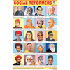 SOCIAL REFORMERS CHART SIZE 12X18 (INCHS) 300GSM ARTCARD - Indian Book Depot (Map House)
