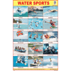 WATER SPORTS CHART SIZE 12X18 (INCHS) 300GSM ARTCARD - Indian Book Depot (Map House)