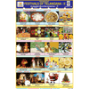 TELANGANA FESTIVALS PART   2 CHART SIZE 12X18 (INCHS) 300GSM ARTCARD - Indian Book Depot (Map House)