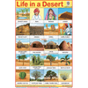LIFE IN DESERT SIZE 24 X 36 CMS CHART NO. 308 - Indian Book Depot (Map House)