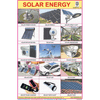 SOLAR ENERGY CHART SIZE 12X18 (INCHS) 300GSM ARTCARD - Indian Book Depot (Map House)