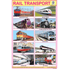 RAIL TRANSPORT SIZE 24 X 36 CMS CHART NO. 320 - Indian Book Depot (Map House)