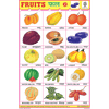 FRUITS CHART NO.2 SIZE 24 X 36 CMS CHART NO. 38 - Indian Book Depot (Map House)