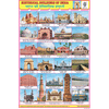 HISTORICAL BUILDINGS OF INDIA SIZE 24 X 36 CMS CHART NO. 44 - Indian Book Depot (Map House)