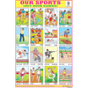 OUR SPORTS CHART SIZE 12X18 (INCHS) 300GSM ARTCARD - Indian Book Depot (Map House)