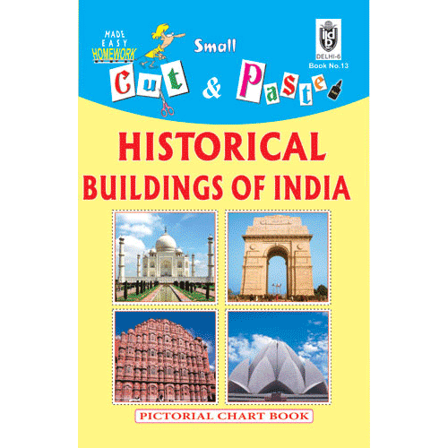 Cut and paste book of HISTORICAL BUILDINGS OF INDIA - Indian Book Depot (Map House)