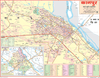CITY MAP OF KANPUR (HINDI) SIZE 45 X 57 CMS - Indian Book Depot (Map House)