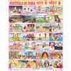 FESTIVALS OF INDIA CHART SIZE 45 X 57 CMS - Indian Book Depot (Map House)