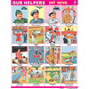 OUR HELPERS CHART SIZE 45 X 57 CMS - Indian Book Depot (Map House)