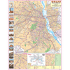 CITY MAP OF DELHI (ENGLISH) SIZE 45 X 57 CMS - Indian Book Depot (Map House)