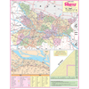 BIHAR (HINDI) SIZE 45 X 57 CMS - Indian Book Depot (Map House)