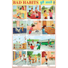 BAD HABITS CHART SIZE 50 X 75 CMS - Indian Book Depot (Map House)