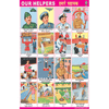 OUR HELPERS CHART SIZE 50 X 75 CMS - Indian Book Depot (Map House)