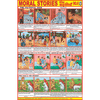 MORAL STORIES NO. 4 CHART SIZE 50 X 75 CMS - Indian Book Depot (Map House)