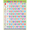 NUMERICAL CHART (1 TO 100) CHART SIZE 55 X 70 CMS - Indian Book Depot (Map House)