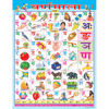 HINDI ALPHABET CHART SIZE 55 X 70 CMS - Indian Book Depot (Map House)