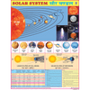 SOLAR SYSTEM CHART SIZE 55 X 70 CMS - Indian Book Depot (Map House)
