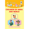 Cut and paste book of CHILDREN OF INDIA AND WORLD - Indian Book Depot (Map House)