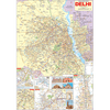DELHI CITY (ENGLISH) SIZE 70 X 100 CMS - Indian Book Depot (Map House)