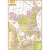 HARYANA (HINDI) SIZE 70 X 100 CMS - Indian Book Depot (Map House)