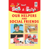 Cut and paste book of OUR HELPERS AND SOCIAL FRIENDS - Indian Book Depot (Map House)