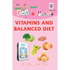 Cut and paste book of VITAMINS AND BALANCED DIET - Indian Book Depot (Map House)