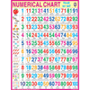 NUMERICAL CHARTJUMBO CHART SIZE 100 X 140 CMS - Indian Book Depot (Map House)