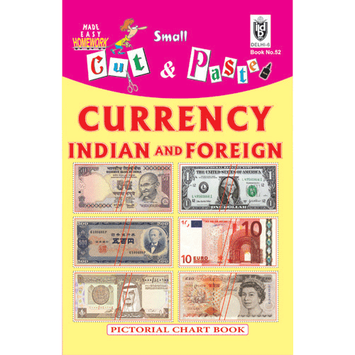 Cut and paste book of CURRENCY ; INDIAN AND FOREIGN - Indian Book Depot (Map House)