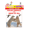 Cut and paste book of POLAR ANIMALS AND BIRDS AT SEA - Indian Book Depot (Map House)