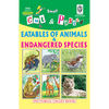 Cut and paste book of EATABLES OF ANIMALS - Indian Book Depot (Map House)
