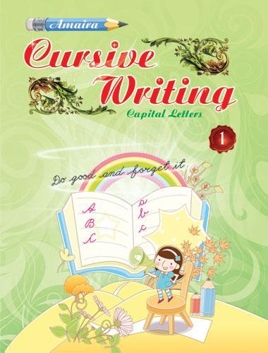 AMAIRA CURSIVE WRITING PART   1 - Indian Book Depot (Map House)