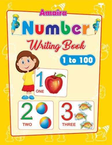 AMAIRA NUMBER WRITING BOOK (1TO100) - Indian Book Depot (Map House)