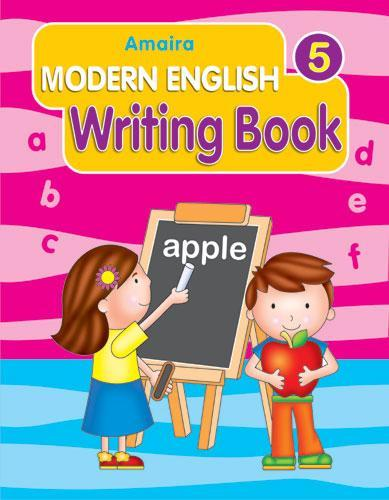 AMAIRA MODERN ENGLISH WRITING 5 - Indian Book Depot (Map House)