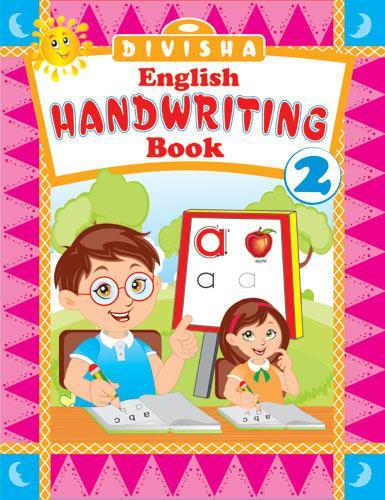 DIVISHA ENGLISH HANDWRITING BOOK   2 - Indian Book Depot (Map House)