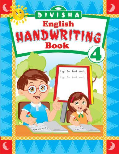 DIVISHA ENGLISH HANDWRITING BOOK   4 - Indian Book Depot (Map House)