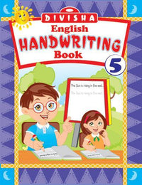 DIVISHA ENGLISH HANDWRITING BOOK   5 - Indian Book Depot (Map House)