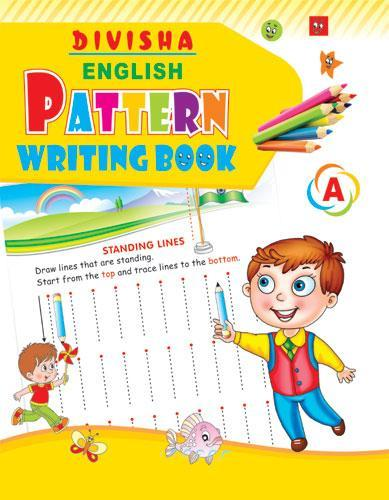 DIVISHA ENGLISH PATTERN WRITING BOOK PART   A - Indian Book Depot (Map House)