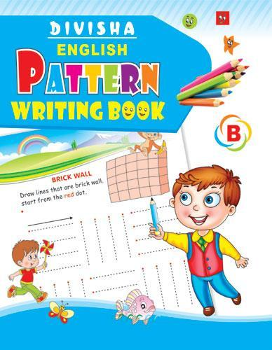 DIVISHA ENGLISH PATTERN WRITING BOOK PART   B - Indian Book Depot (Map House)