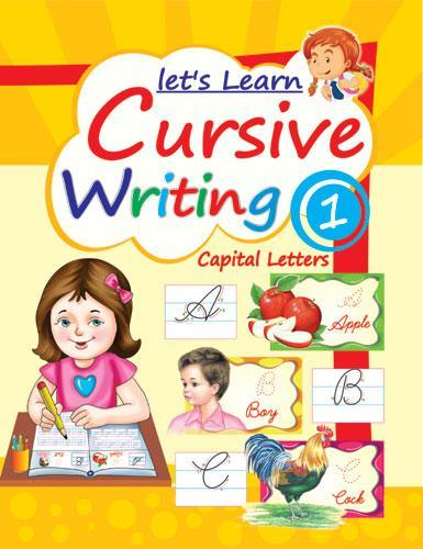 Lets Learn Cursive Writing Part 1 (Capital Letters) - Indian Book Depot (Map House)