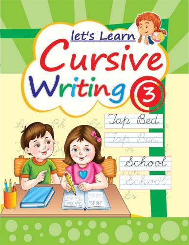 LETS LEARN CURSIVE WRITING PART 3 - Indian Book Depot (Map House)
